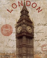 Letter from London Framed Print