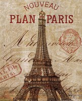 Letter from Paris Fine Art Print