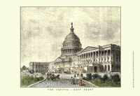The Capitol -East Front Fine Art Print