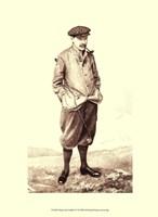 Vanity Fair Golfers IV Fine Art Print