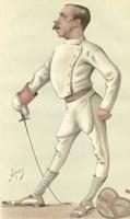 Vanity Fair Fencing Fine Art Print