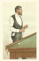 Vanity Fair Billiards Fine Art Print