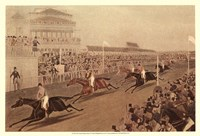 The Grand Steeple Chase IV Fine Art Print