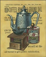 Small Coffee Grounds (IP) Fine Art Print