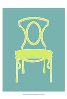 Small Graphic Chair I (U) Framed Print
