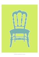 Small Graphic Chair III (U) Framed Print