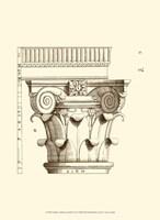 Small Corinthian Detail I (U) Fine Art Print