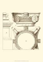 Small Corinthian Detail IV (U) Fine Art Print