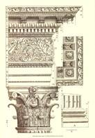 Small Corinthian Detail V (U) Fine Art Print