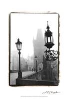 Charles Bridge in Morning Fog I Fine Art Print
