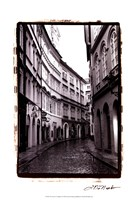 The Streets of Prague I Fine Art Print