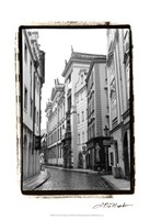 The Streets of Prague II Fine Art Print