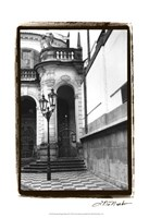 Passing through Prague III Fine Art Print