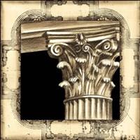 Small Architectural Schema II Fine Art Print
