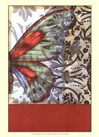 Small Butterfly Tapestry II (P) Framed Print