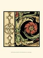 Small Frieze Detail III (P) Fine Art Print