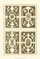 Small Garden Maze II (P) Fine Art Print