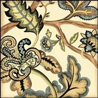 Small Jacobean Tile II (P) Fine Art Print
