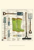 Garden Boots Fine Art Print