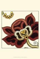 Small Paprika Floral II Framed Print