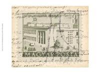 Vintage Stamp II Fine Art Print