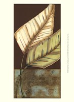 Small Palm Leaf Arabesque II (P) Fine Art Print
