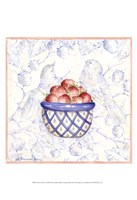 Toile & Berries I Framed Print