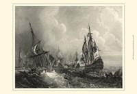 Small Ships at Sea II (P) Fine Art Print