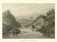 Pastoral Riverscape VI Fine Art Print