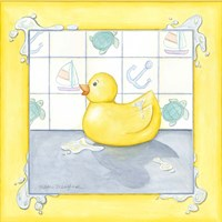 Small Rubber Duck II Fine Art Print