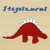 Stegosaurus Framed Print