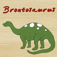 Brontosaurus Framed Print