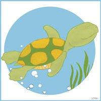 Timothy the Turtle Fine Art Print