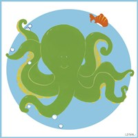 Olga the Octopus Fine Art Print