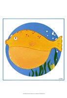 Billy the Blowfish Fine Art Print