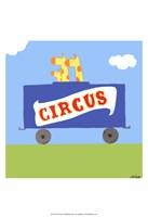 Circus Train II Fine Art Print