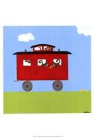 Circus Train IV Fine Art Print