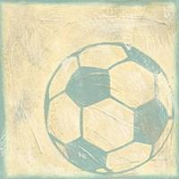 Soccer Rules Framed Print
