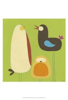 Feathered Friends II Fine Art Print