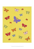 Busy Butterfly Fine Art Print