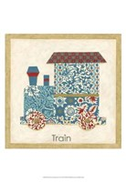 Patchwork Transportation II Fine Art Print