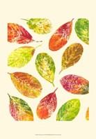 Vibrant Leaves I Fine Art Print