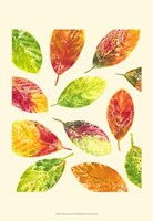 Vibrant Leaves II Fine Art Print