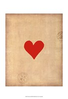 Small Heart Fine Art Print