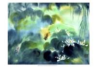 Blue Lagoon I Fine Art Print