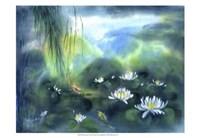 Blue Lagoon II Fine Art Print