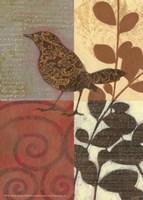 Paisley Sparrow Fine Art Print