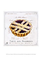 Tarte aux Framboises Fine Art Print