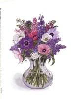 Anemone Bouquet Fine Art Print