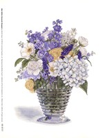 White Ranacule Bouquet Fine Art Print